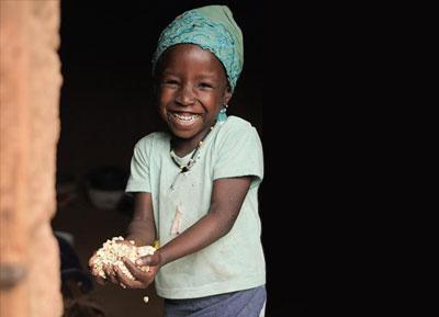 WV smiling child